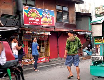 Barangay Burger Jenny's Rosario Pasig