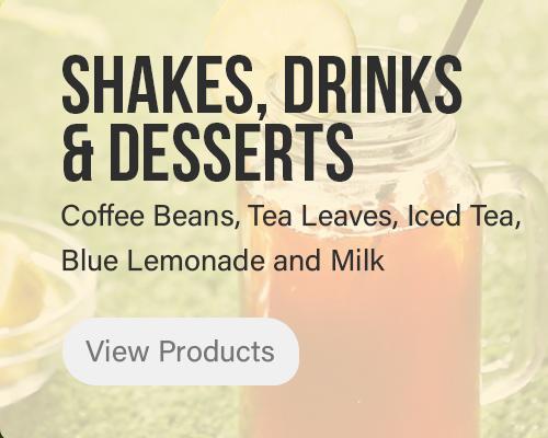 Shakes, Drinks & Desserts
