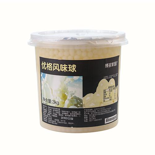 Yogurt Popping Boba 3 kg