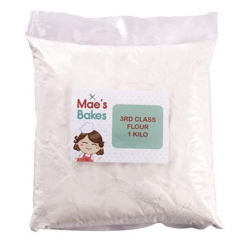 Mae's Bakes Third Class Flour 1 kg
