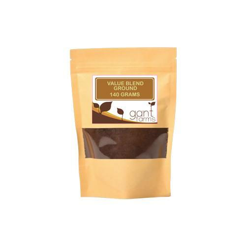 Gantfarms Value Blend Ground Coffee Beans 140 g