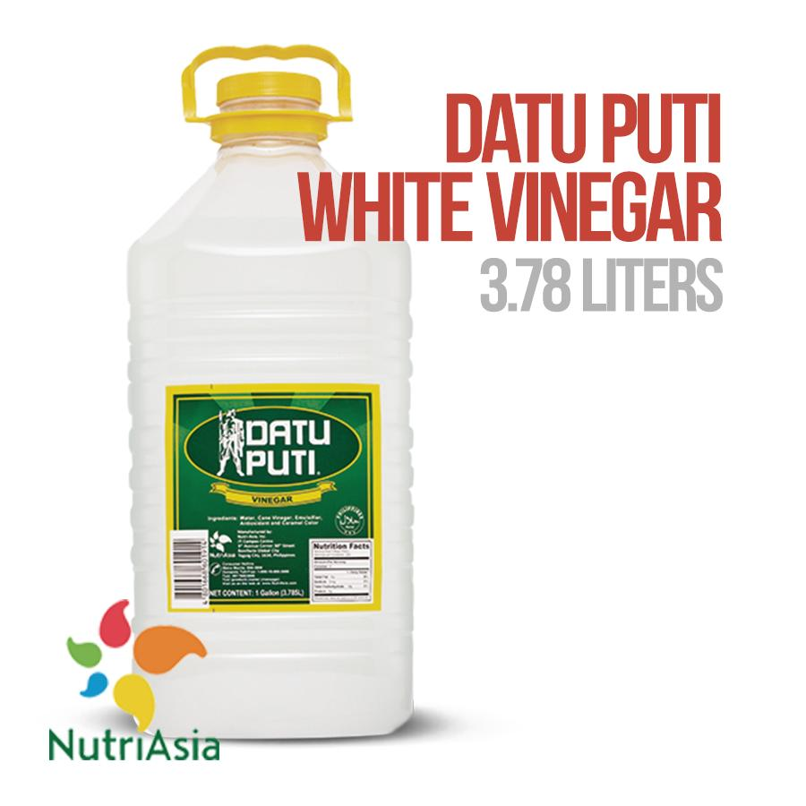 DATU PUTI White Vinegar 3.785 Liters PET
