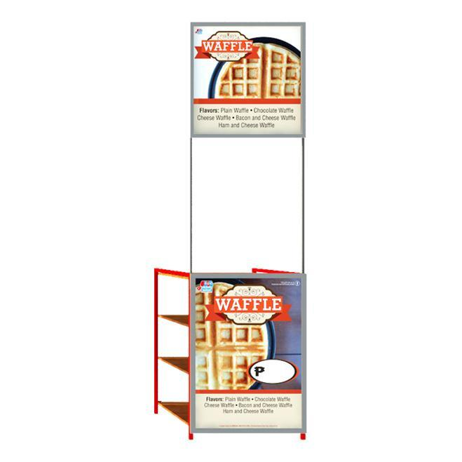 Belgian Waffle Food Cart