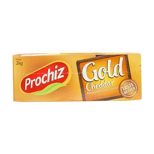 Prochiz Gold Cheddar Block 2 kg
