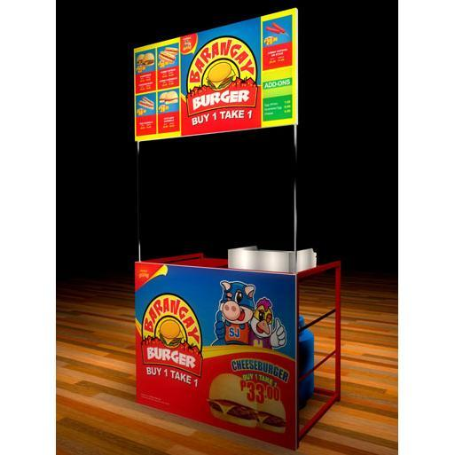 Barangay Burger Express Food Cart Business Negosyo Package