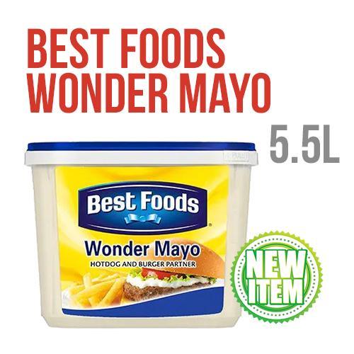 Best Foods Wonder Mayo 5.5L