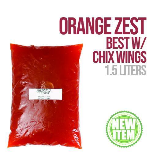 Orange Zest Sauce 1.5 L