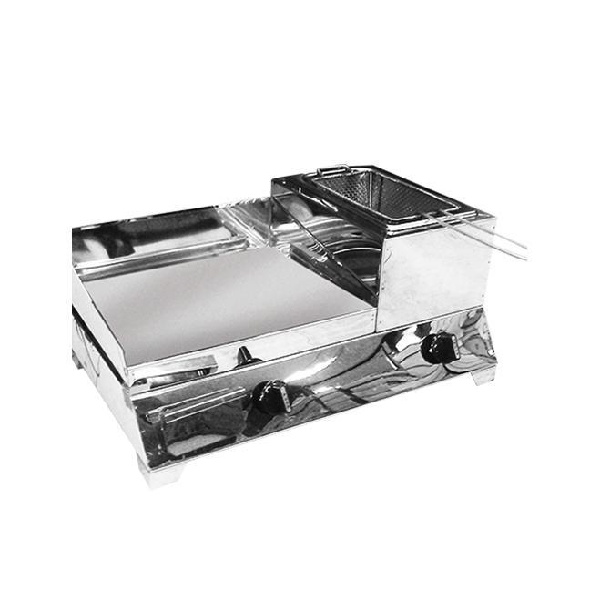 """Griddle with Fryer 11.5"""" x 22"""" x 8.5"""""""