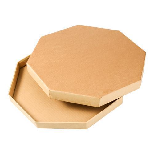 Hexagon Bilao Corrugated Box 16 x 16 set 20 's