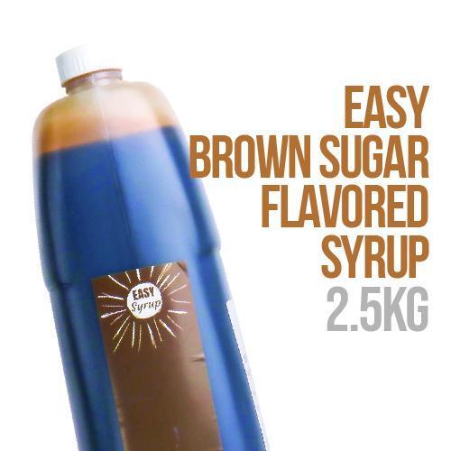 Easy Brown Sugar Flavored Syrup 2.5 kg