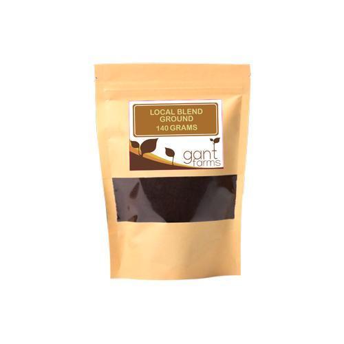 Gantfarms Local Blend Ground Coffee Beans 140 g