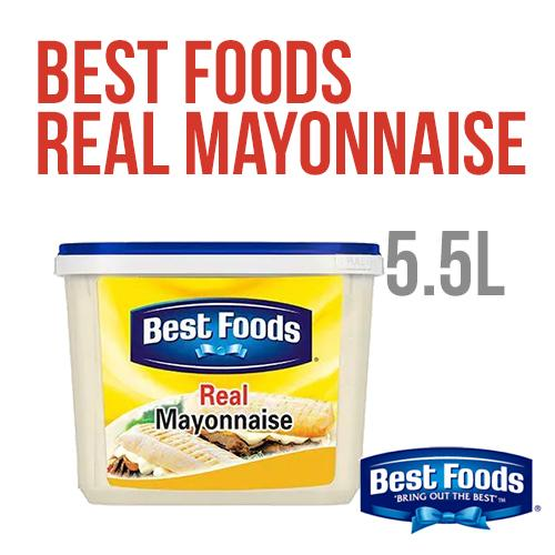 Best Foods Real Mayonnaise 5.5L