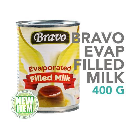 Bravo Evaporated Filled Milk 400 g