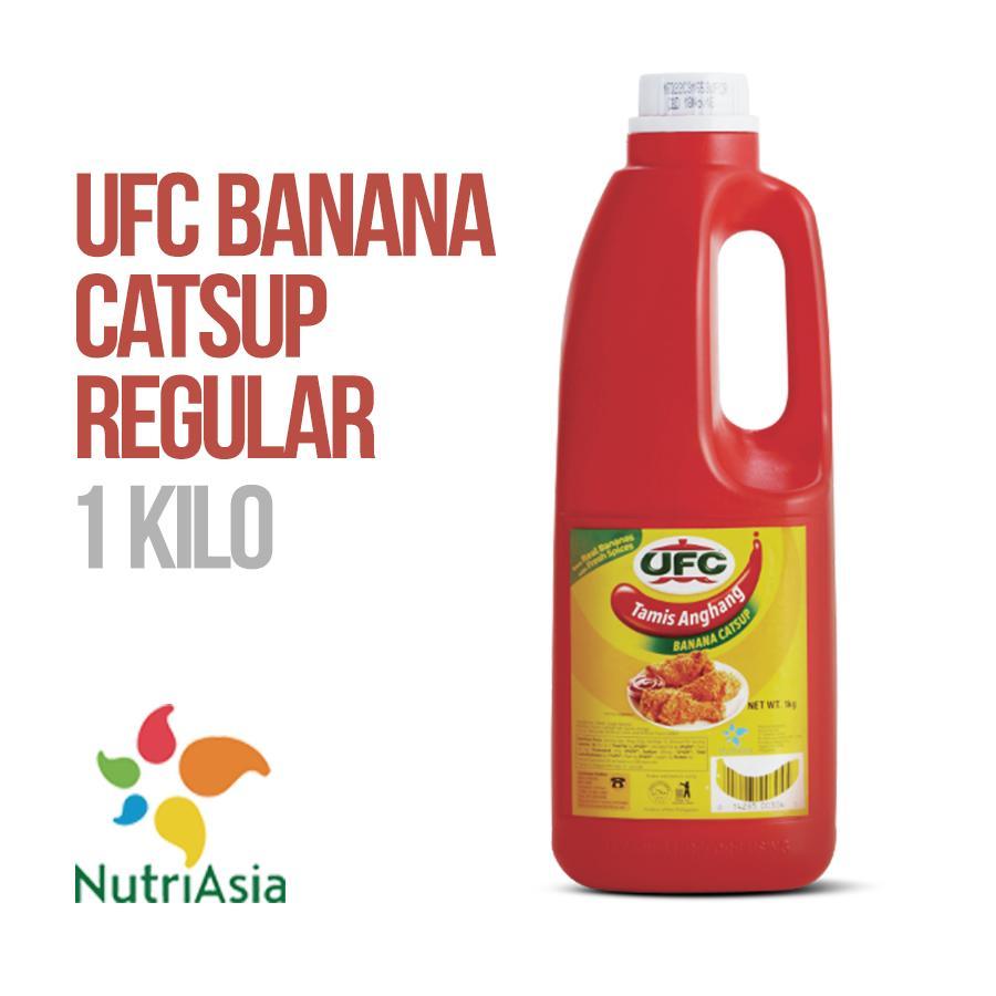 UFC Banana Catsup Regular 1 kg plastic bottle