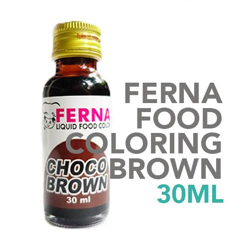 Ferna Food Coloring Brown 30 ml
