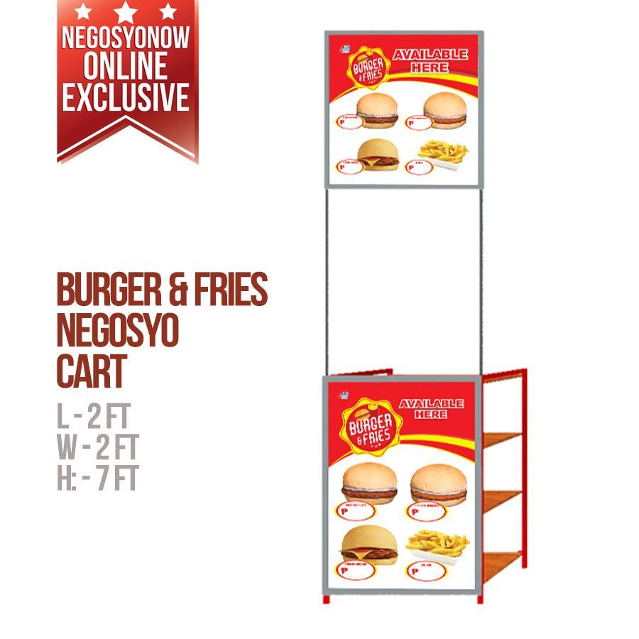 Burger & Fries Cart