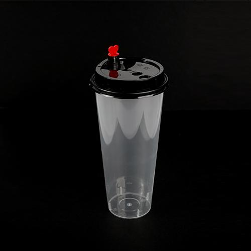 700 ml Hard Cup with Lid 100s