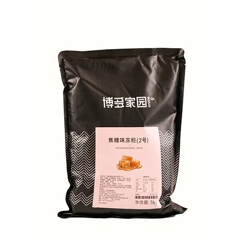 Caramel Flavored Jelly Powder No. 2 1 kg